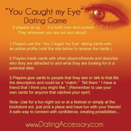 Grab your friends and exchange your cards and have a great time getting dates!  www.DatingAccessory.com/sign-up/