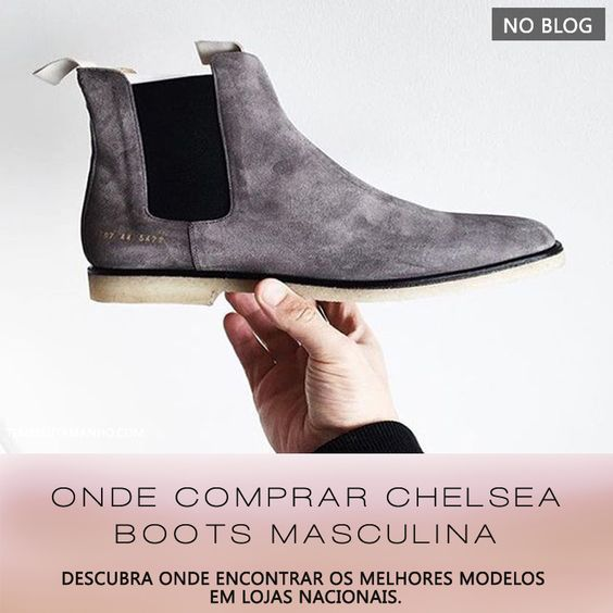 Onde Comprar Chelsea Boots Masculina ( #chelsea #chelseaboot #chelseaboots #comprarchelseaboots #tendencia #shoes #trend )