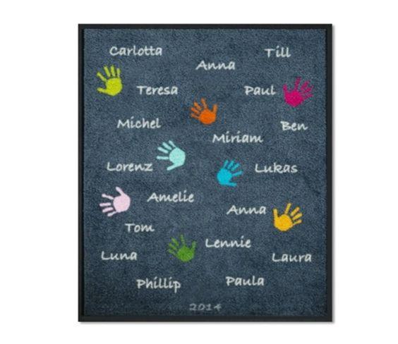 Diese Eingangs oder Flurmatte ist ein passendes Abschiedsgeschenk für Ihre Kindergarten oder Spiel-Gruppe: Eine tolle Erinnerung an die (Vorschul-)Kinder und ein schönes Dankeschön an eine...