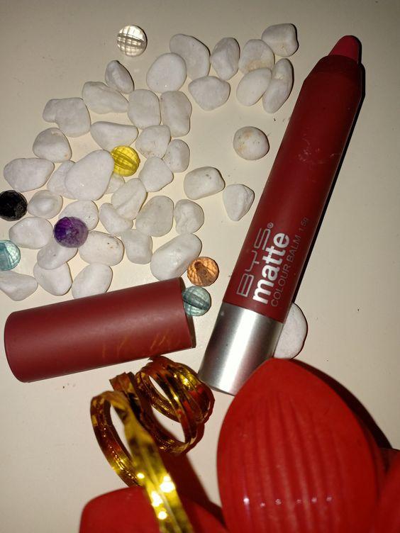 Matte Color Lip Balm