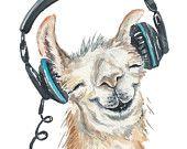 Original Animal Watercolors and Prints por WaterInMyPaint en Etsy