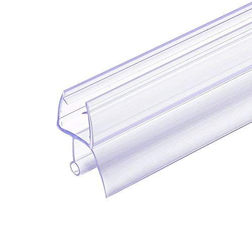 Frameless Shower Door Seal Strip Weather Stripping Seal Sweep With Drip Rail For 3 8 Inch Glass 39 L Shower Doors Frameless Shower Frameless Shower Door Seal