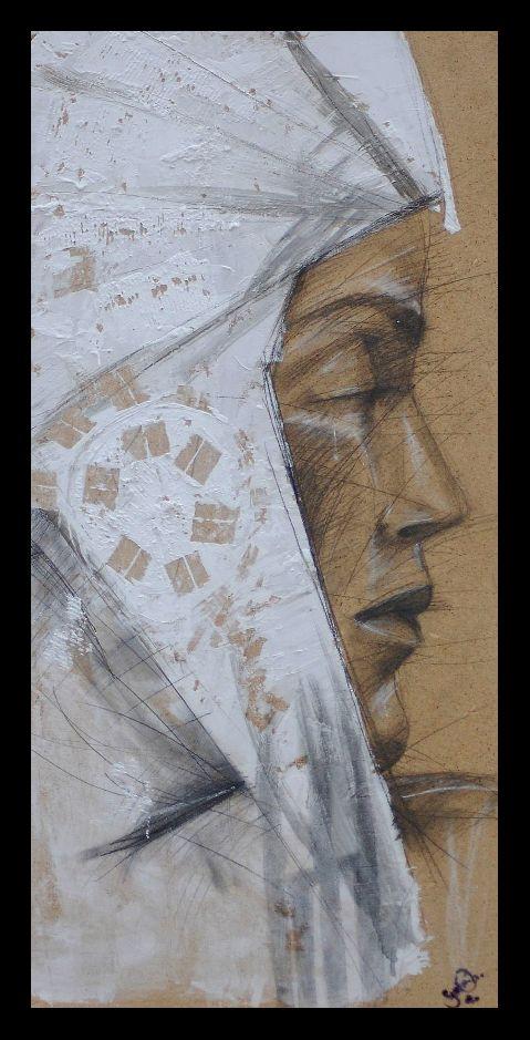 12 best Donne con elmo images on Pinterest   Art crafts, Art designs ...