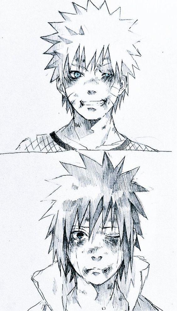 Naruto Sasuke Naruto Shippuden Com Imagens Desenhos De
