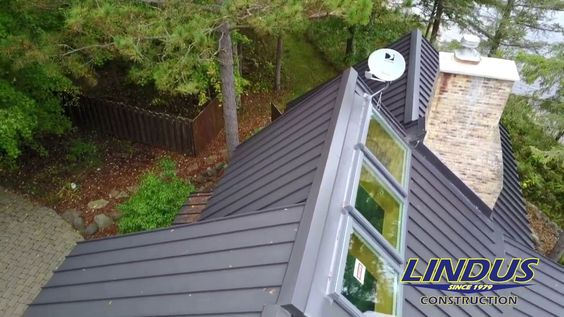 This Webster Wi Homeowner Contracted With Lindus Construction To Have His Cedar Shake Roof Replaced With Eng Cedar Shake Roof Metal Roofing Systems Metal Roof