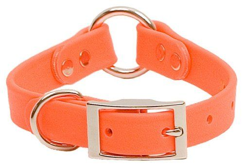 Mendota Products DuraSoft Puppy Collar, 3/4-Inch by 14-Inch, Orange - http://www.thepuppy.org/mendota-products-durasoft-puppy-collar-34-inch-by-14-inch-orange/