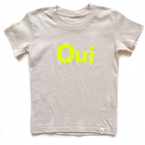cute screen tee:  Tee Shirt, Language Tees, Oui Language, Fashion Nice