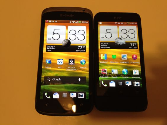 HTC One S vs. HTC One V Review