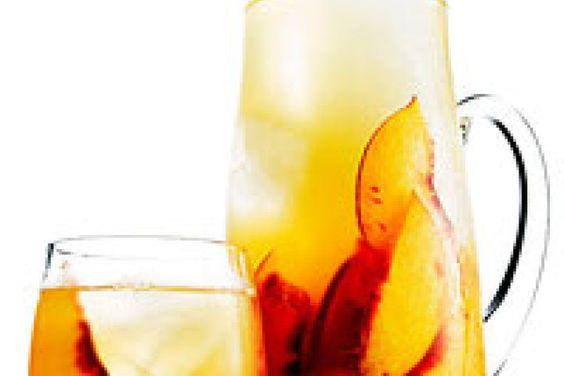 Bourbon and Peach Sweet Tea Punch Recipe