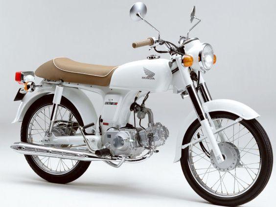 "HONDA BENLY almost like a ""cool"" postie bike."
