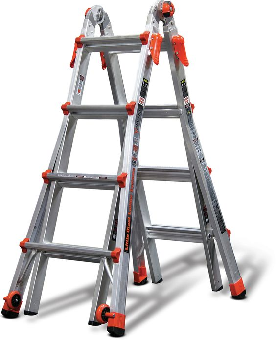 17 ft Aluminum Velocity Multi-Position Ladder