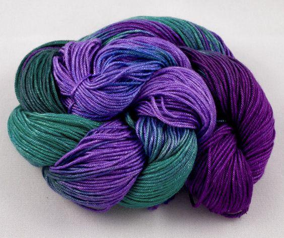 IRIS Handpainted Satin Bamboo Yarn