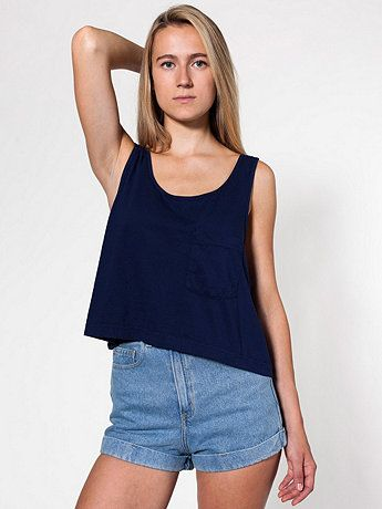 The Look for Less!  Mid-Length Pocket Tank, American Apparel, $29