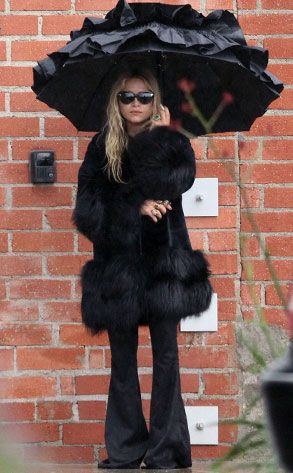 Rain Rain Go Away from Mary-Kate Olsen's Best Looks | E! Online