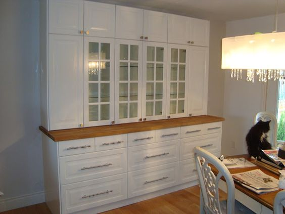 Pinterest the world s catalog of ideas for Dining room storage ideas