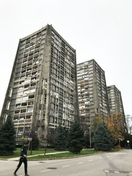 Named After Vjenceslav Richter One Of The Architects Of Centar 51 Skyscraper Brutalist Architecture Zagreb Croatia