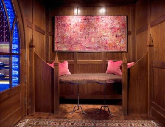Coin salon d 39 un style ethnique chaleureux et rustique - Salon rustique moderne ...