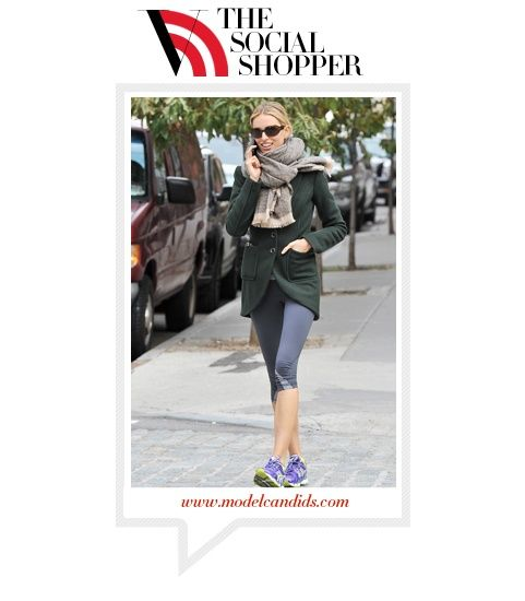 Karolina kurkova the social shopper stylish resolve vogue