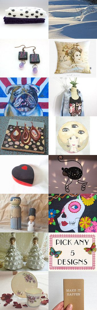 Superb team mates -- 5th edition... by Kay on Etsy--Pinned with TreasuryPin.com