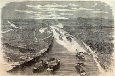 Lieutenant John Vincent Johnston was the Union Navy commander on an expedition to spike the guns of Fort Number 1 on April 1st 1862.