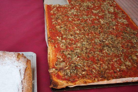 """Coca"".  Spanish pizza.from Xativa."