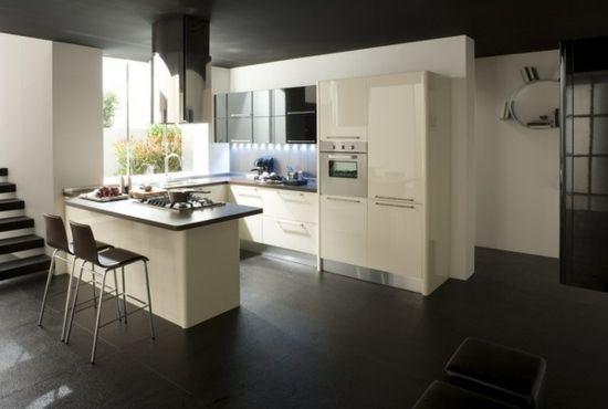 cuisine minimaliste laquée