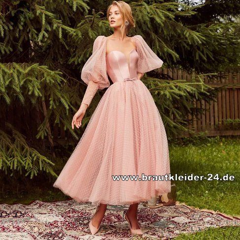 Standesamt Mode Lace Up Satin Kleid Standesamkleid In Rosa Knochellang Brautkleider Und Accessoires Gunstig Online Kaufen In 2020 Schone Kleider Kleider Kleidung
