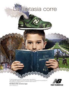 New Balance kid, adv campaign S/S 2014 www.newbalance.it