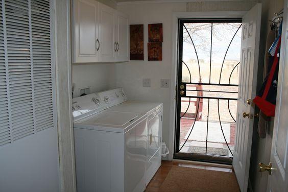 Full size Laundry Room at Hummingbird Ranch Vacation House Rental.  $695 WK http://vacationhomerentals.com/68121  520-265-3079