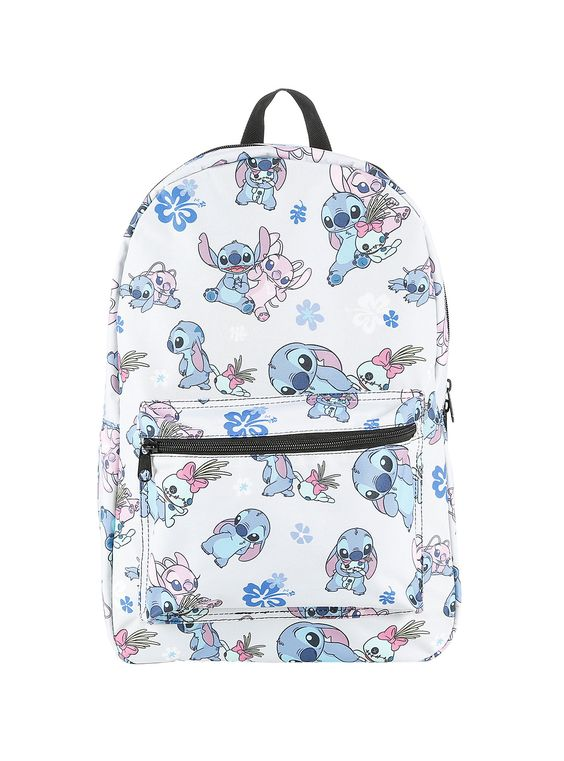 Disney Lilo & Stitch Stitch Scrump & Angel Backpack, , alternate