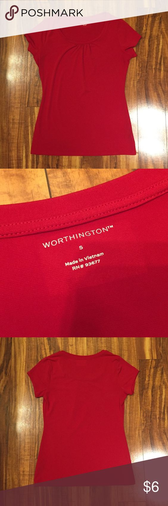 Worthington Top Worthington top. Red. EUC. Offers considered. Worthington Tops Blouses