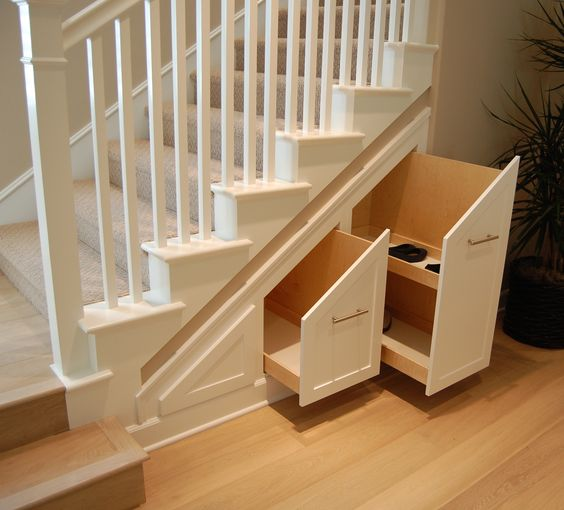 Hidden storage drawers under the stairs jasmine res 1 for Under stairs drawers plans