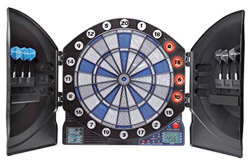 Darts- Halex Prodigy Electronic Dartboard with Cabinet ** To view further  foru2026