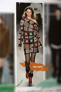 Outstanding Crochet: Granny square can be stylish? - elegant granny square dress