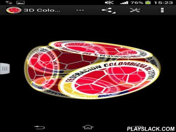 3D Colombia Football  Android App - playslack.com , 3D Colombia football will allow you to take feeling in the champion images of the national team of Colombia football. To change the illustration it is essential to press the screen 2 times, and in the bill of settings to alter everything to your taste.