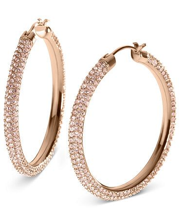 Michael Kors earrings - these match my watch!
