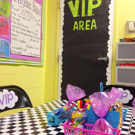 Classroom Vip Ideas : Check out this awesome idea for classroom management vip
