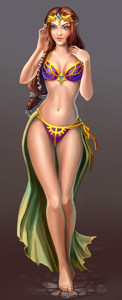 princess zelda hot
