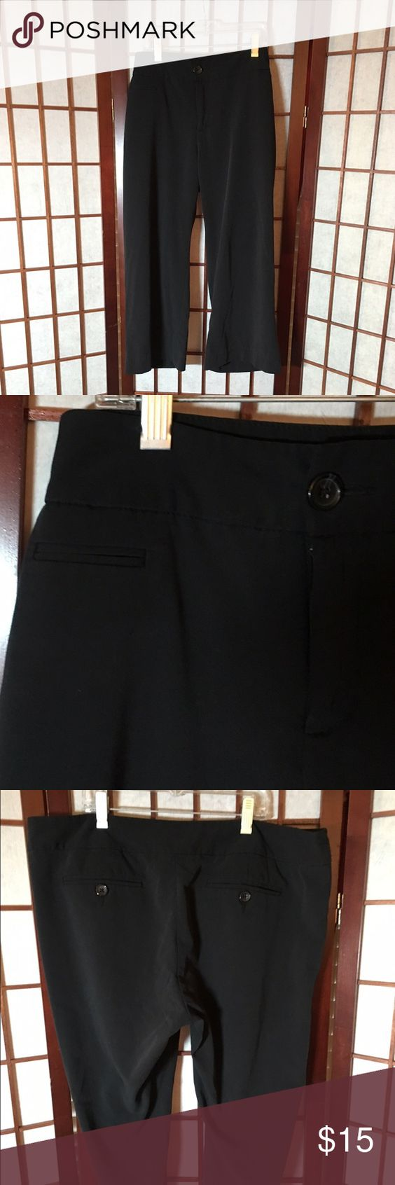 REDUCED**Black Dressy Capris | Capri, Pants and Mossimo supply co