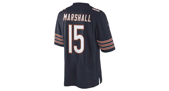 Nike Men's Brandon Marshall Chicago Bears Limited Jersey