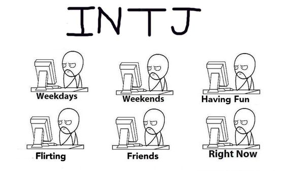 INTJ humor...but seriously.   (I do enjoy getting into Nature, reading a good book, and traveling.)
