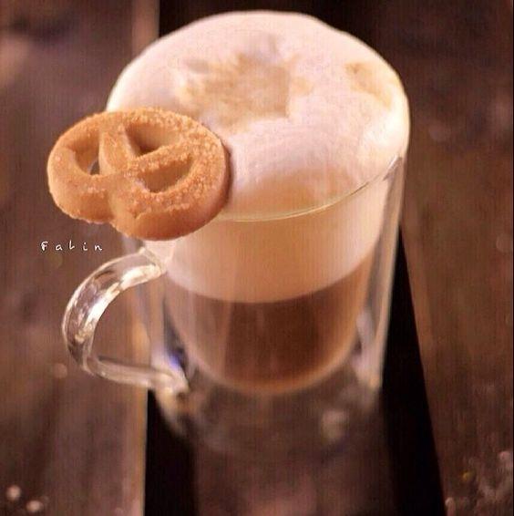 Café e biscoito