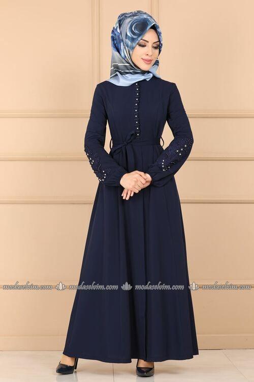 Modaselvim Ferace Incili Ferace 8760w153 Laci Moda Stilleri The Dress Elbise