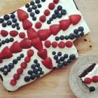 Union Jack cake @ allrecipes.co.uk