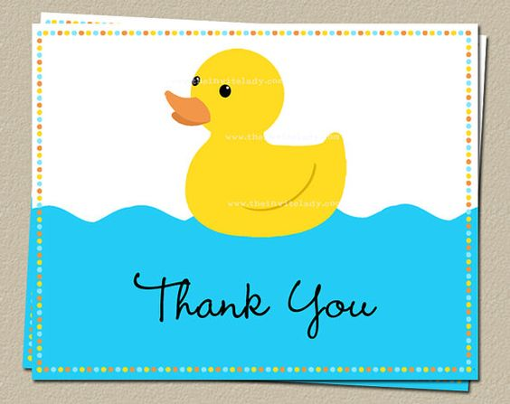 Image result for thank you yellow duckie images