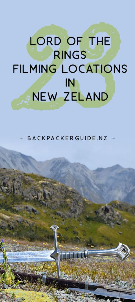 Where was the lord of the rings filmed   new zealand travel guide.