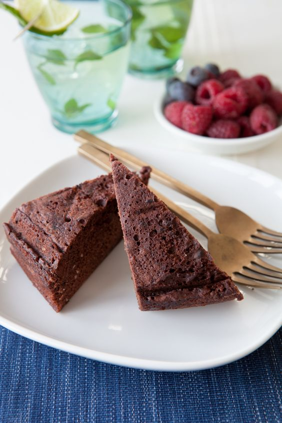 Minute Chocolate Cake Epicure