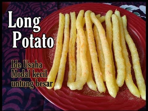Resep Long Potato Youtube Potatoes Food Bacon