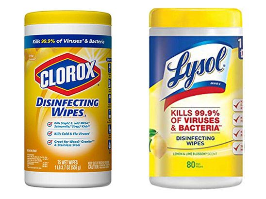 Clorox Vs Lysol Which Disinfecting Wipes Kill More Germs