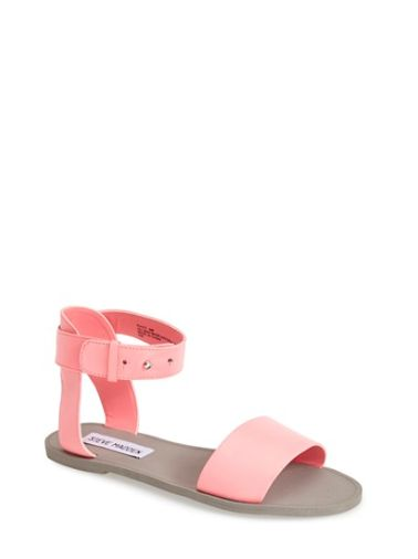 Steve Madden | Available at #nordstorm | Coral 'Evict' Sandal $59.95  http://shop.nordstrom.com/s/steve-madden-evict-sandal-women/3925583?origin=category-personalizedsort&contextualcategoryid=0&fashionColor=CORAL+MULTI&resultback=2097
